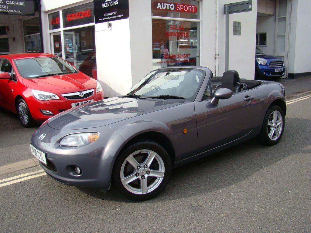 Used Mazda Mx 5 Convertible 2 0 Option Pack 2dr In Loughborough