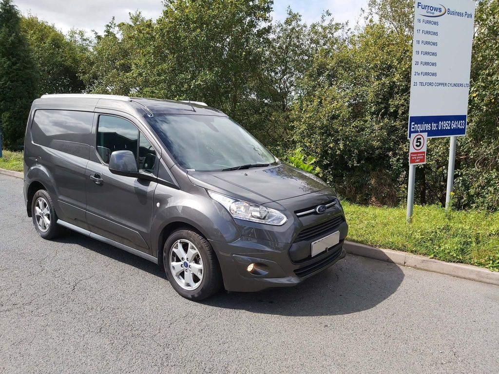 FORD TRANSIT CONNECT Panel Van L1 LIMITED 1.5 TDCI 120 PS AUTO