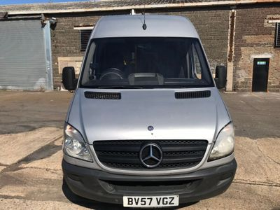 MERCEDES-BENZ SPRINTER Minibus 2.1 CDI 311 Extra High Roof Panel Van 5dr (LWB)