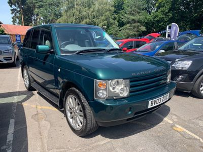 LAND ROVER RANGE ROVER SUV 4.4 V8 Autobiography 5dr