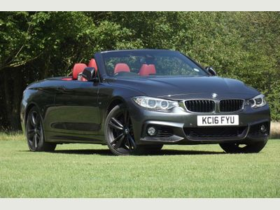 BMW 4 SERIES Convertible 3.0 440i M Sport Sport Auto (s/s) 2dr