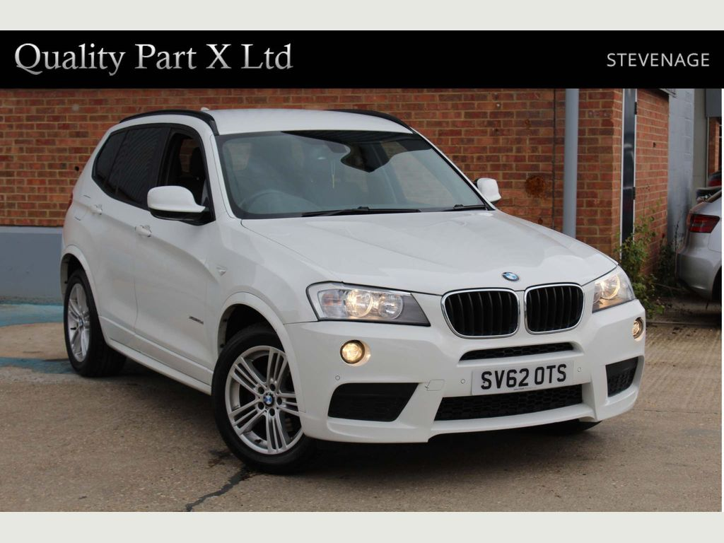 BMW X3 SUV 2.0 20d BluePerformance M Sport xDrive 5dr