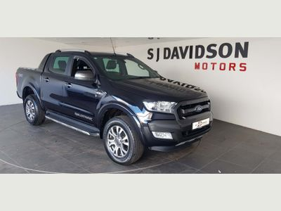 FORD RANGER Unlisted 3.2 TDCi Wildtrak Double Cab Pickup Auto 4x4 4dr