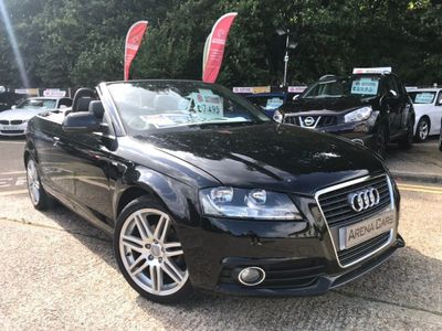 AUDI A3 CABRIOLET Convertible 1.6 TDI S line 2dr