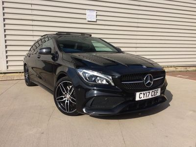 MERCEDES-BENZ CLA CLASS Estate 2.1 CLA220d AMG Line Shooting Brake 7G-DCT 4MATIC (s/s) 5dr