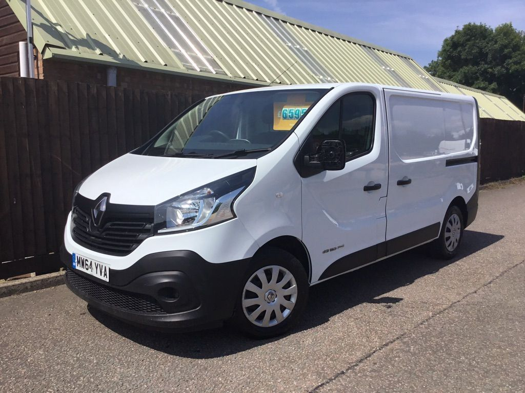 RENAULT TRAFIC Other 1.6 dCi Energy SL27 Business Panel Van 5dr (Ready 4work)