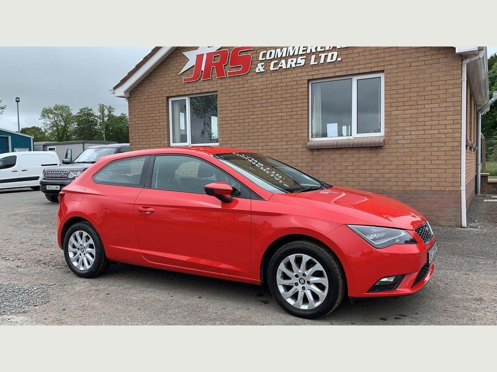 SEAT LEON Hatchback 1.6 TDI CR CR SE (Tech Pack) SportCoupe (s/s) 3dr