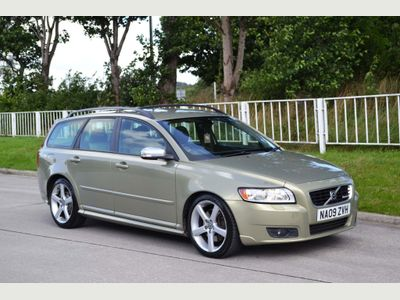 VOLVO V50 Estate 2.4 D5 R-Design Sport Geartronic 5dr