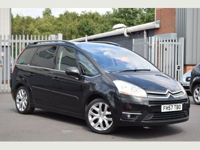 CITROEN GRAND C4 PICASSO MPV 2.0 i 16v Exclusive EGS 5dr