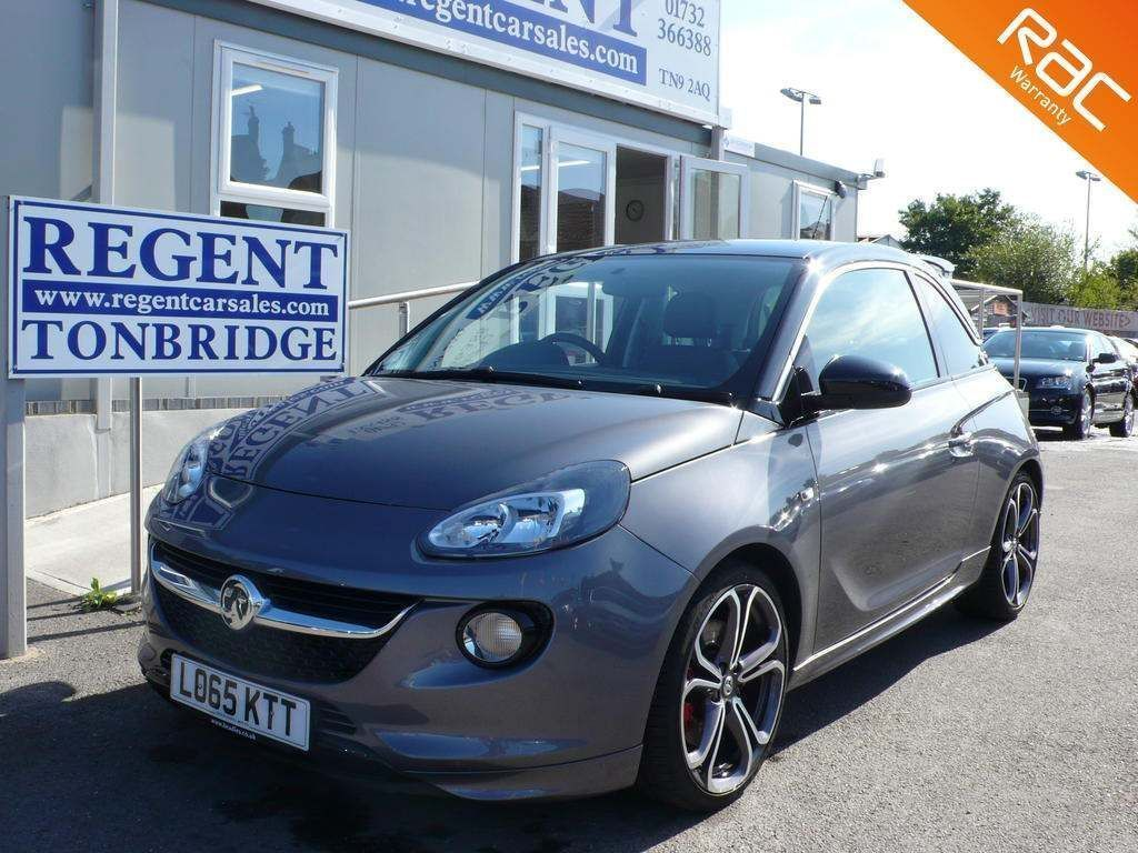 VAUXHALL ADAM Hatchback 1.4i Turbo S (s/s) 3dr