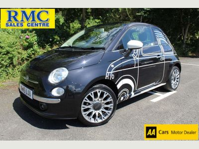 FIAT 500 Hatchback 1.2 Ron Arad Edition (s/s) 3dr