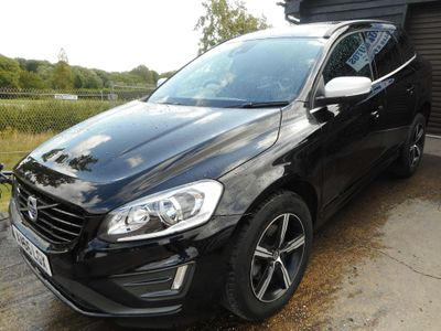 VOLVO XC60 SUV 2.4 D4 R-Design Nav Geartronic AWD (s/s) 5dr