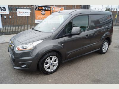 FORD TRANSIT CONNECT Panel Van 1.6TDCi LIMITED 115PS L1 VAN