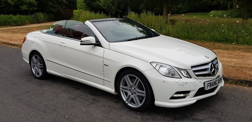MERCEDES-BENZ E CLASS Convertible 2.1 E250 CDI BlueEFFICIENCY Sport Edition 125 7G-Tronic Plus (s/s) 2dr