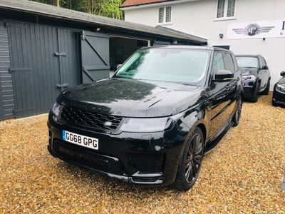 LAND ROVER RANGE ROVER SPORT SUV 3.0 SD V6 HSE Dynamic CommandShift 2 AWD (s/s) 5dr