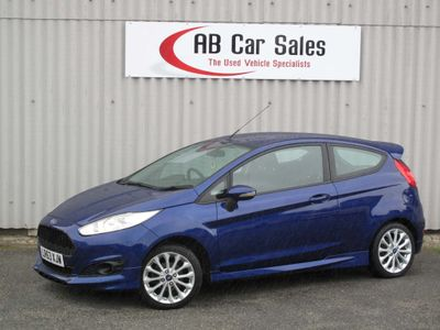 FORD FIESTA Hatchback 1.6 TDCi ECOnetic DPF Zetec S 3dr