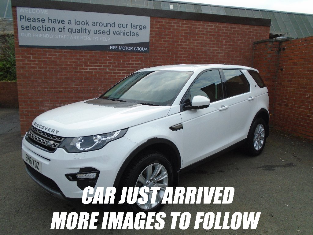 LAND ROVER DISCOVERY SPORT SUV 2.0 TD4 SE Tech 4X4 5dr