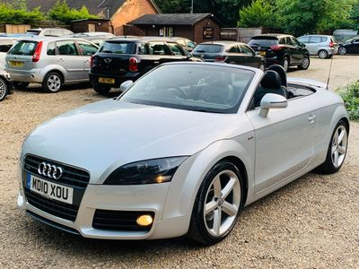 AUDI TT Convertible 2.0 S line Roadster S Tronic 2dr