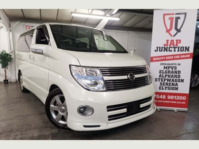 NISSAN ELGRAND MPV 250 HWS BLACK LEATHER ED+TWIN SUNROOF
