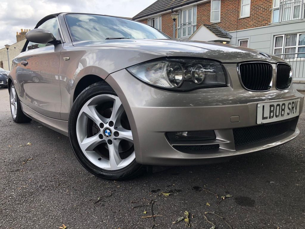 BMW 1 SERIES Convertible 3.0 125i SE 2dr