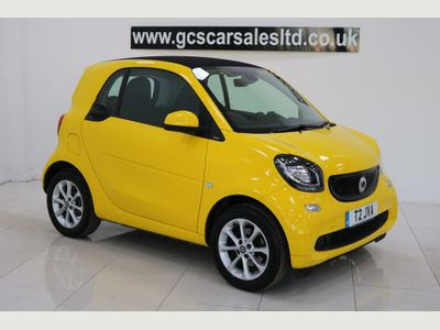 SMART FORTWO Coupe 1.0 Passion Twinamic (s/s) 2dr