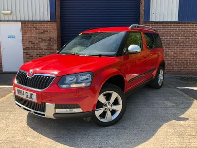 SKODA YETI SUV 2.0 TDi CR Tour de France Outdoor 4WD 5dr