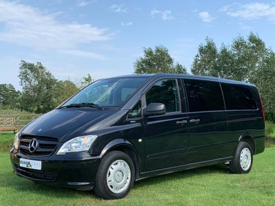 MERCEDES-BENZ VITO Other 2.1 113CDI Traveliner Extra Long Bus 5dr (EU5, 8 Seats)
