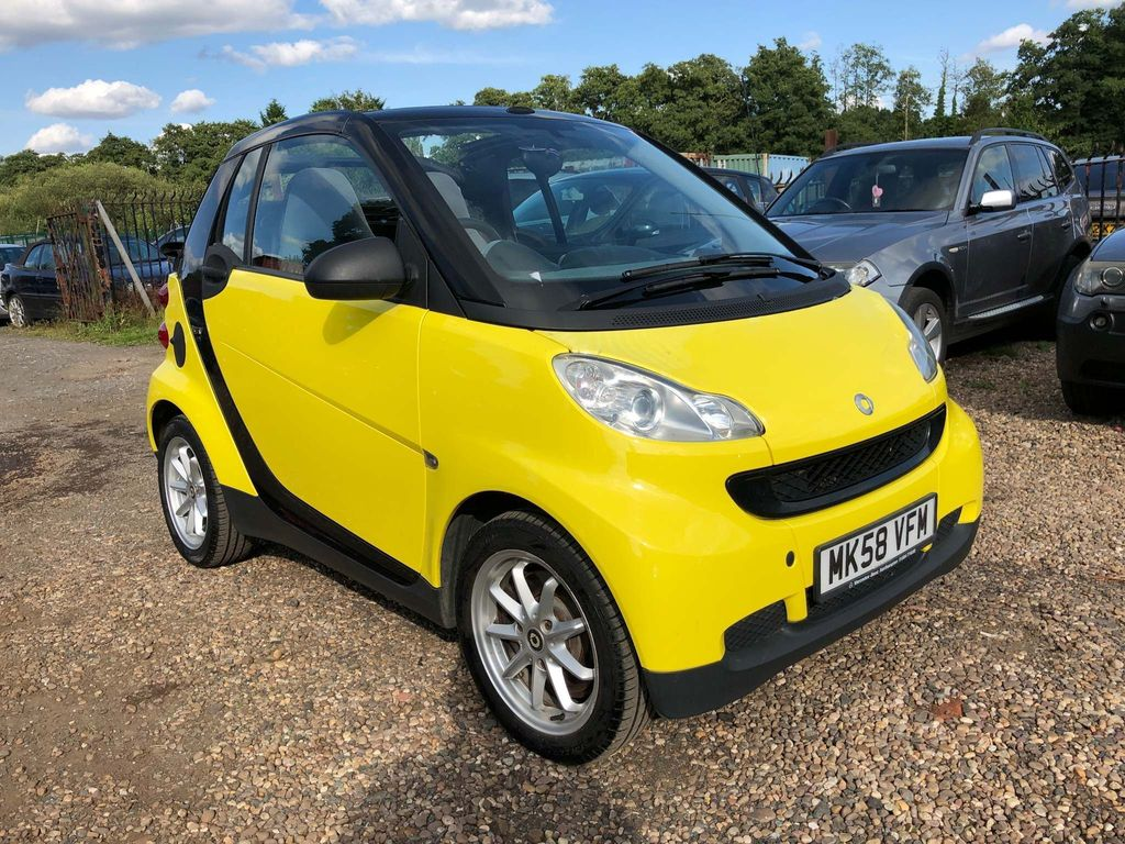 SMART FORTWO Convertible 1.0 Pure Cabriolet 2dr