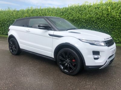 LAND ROVER RANGE ROVER EVOQUE Coupe 2.0 SI4 Dynamic Lux Auto 4X4 3dr