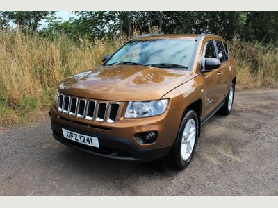 JEEP COMPASS SUV 2.2 CRD 4WD 5dr