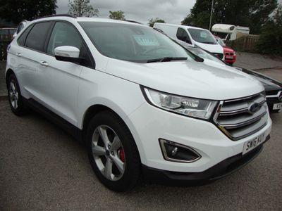 FORD EDGE SUV 2.0 TDCi Zetec 4WD (s/s) 5dr