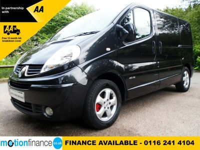 RENAULT TRAFIC Other 2.0 dCi SL27 Sport Low Roof Van 3dr (EU5)