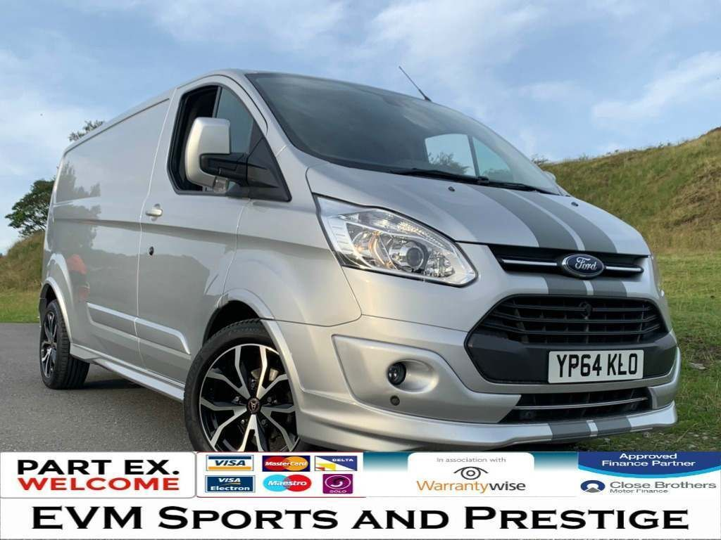 FORD TRANSIT CUSTOM Panel Van 2.2 TDCi 290 L2H1 Limited Panel Van 5dr