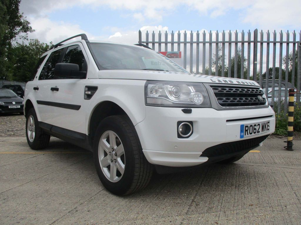 LAND ROVER FREELANDER 2 SUV 2.2 ED4 GS 5dr