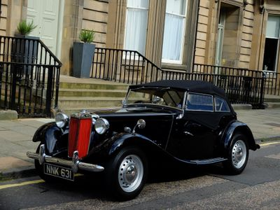 MG TD Convertible {Edition unlisted}