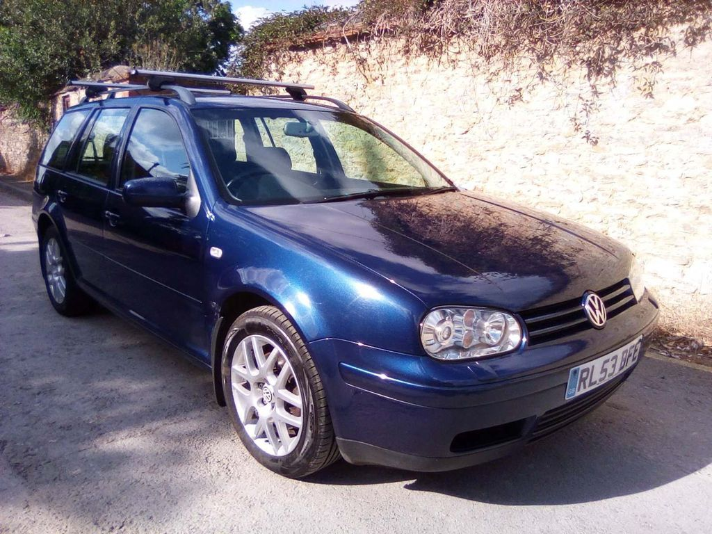 VOLKSWAGEN GOLF Estate 1.9 TDI PD Sport 5dr