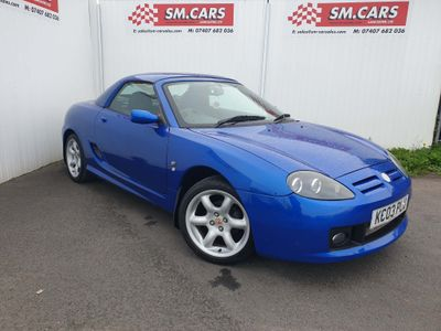 MG TF Convertible 1.8 Cool Blue 2dr