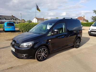 VOLKSWAGEN CADDY Other 1.6 TDI BlueMotion Tech C20 Black Edition Panel Van 4dr