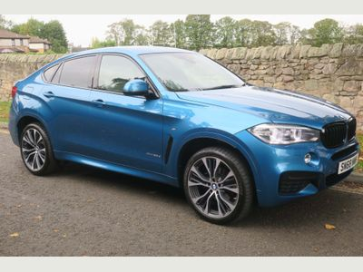 BMW X6 SUV 3.0 30d M Sport Edition Auto xDrive (s/s) 5dr