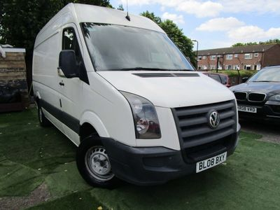 VOLKSWAGEN CRAFTER Panel Van 2.5 TDI CR35 High Roof Van 4dr (MWB)