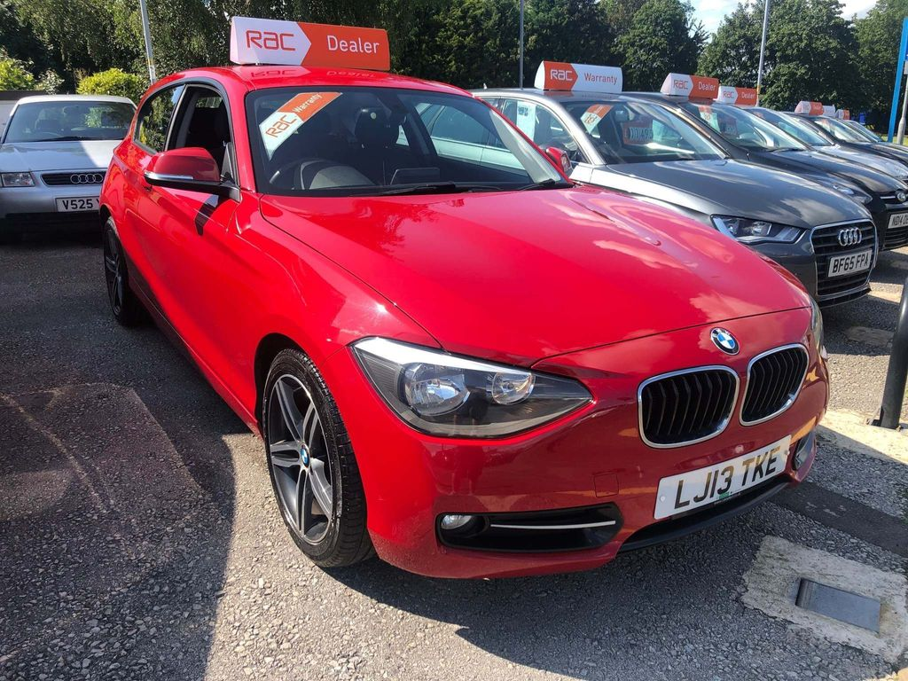 BMW 1 SERIES Hatchback 2.0 116d Sport Sports Hatch 3dr