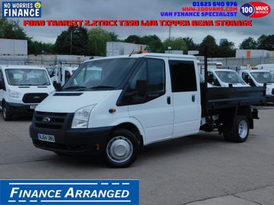 FORD TRANSIT Tipper 2.2TDCI T350 LWB TIPPER REAR STORAGE