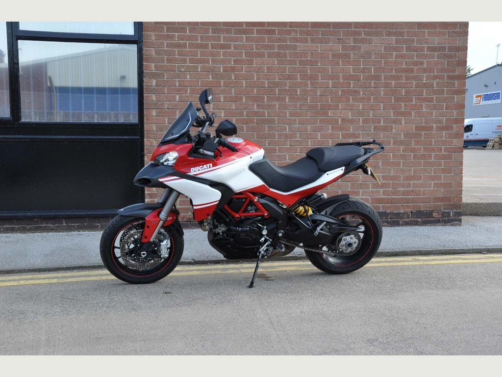 DUCATI MULTISTRADA Adventure 1200 S Pikes Peak Adventure