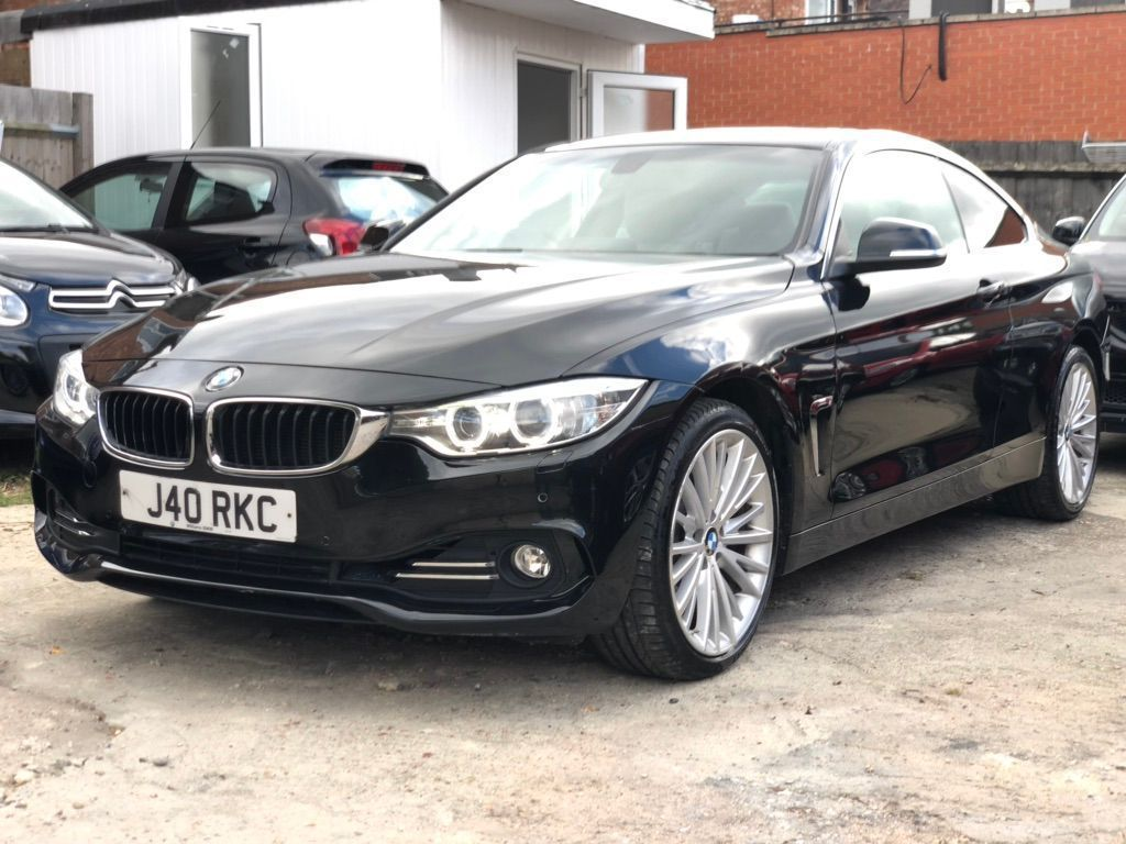 BMW 4 SERIES Coupe 3.0 430d Luxury xDrive 2dr