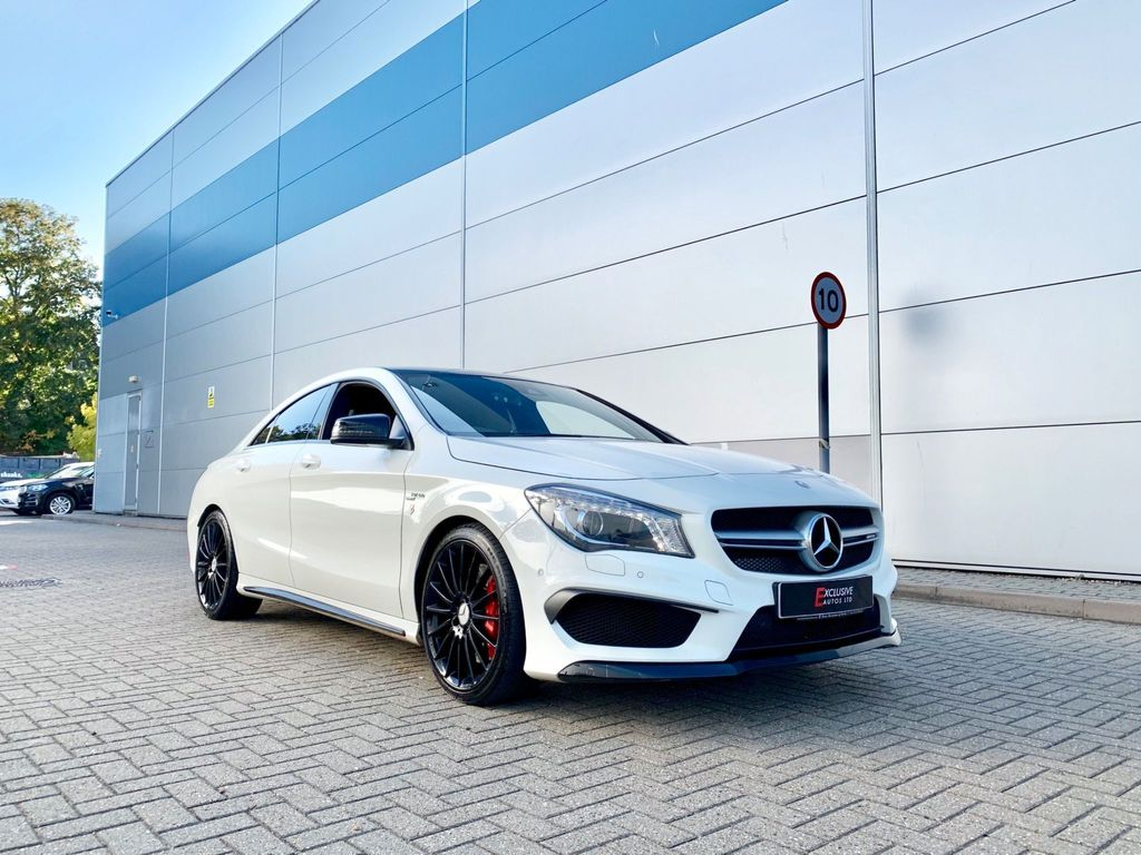 used mercedes benz cla class coupe 2 0 cla45 amg. Black Bedroom Furniture Sets. Home Design Ideas