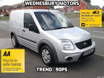 FORD TRANSIT CONNECT Other 1.8 TDCi T200 SWB Trend Panel Van 4dr DPF