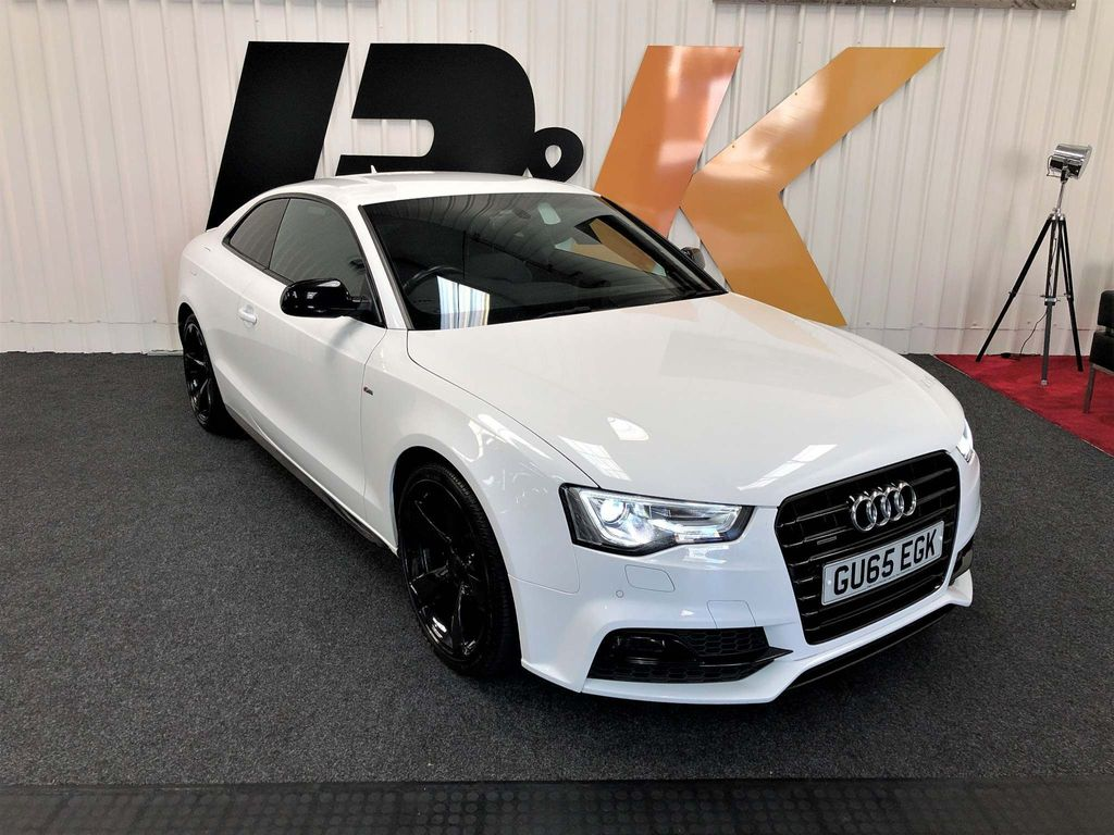 AUDI A5 Coupe 2.0 TDI Black Edition Plus quattro (s/s) 2dr