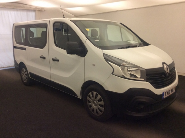 RENAULT TRAFIC Minibus 1.6 dCi Energy SL27 Business Mini Bus 5dr (9 Seats, EU6)