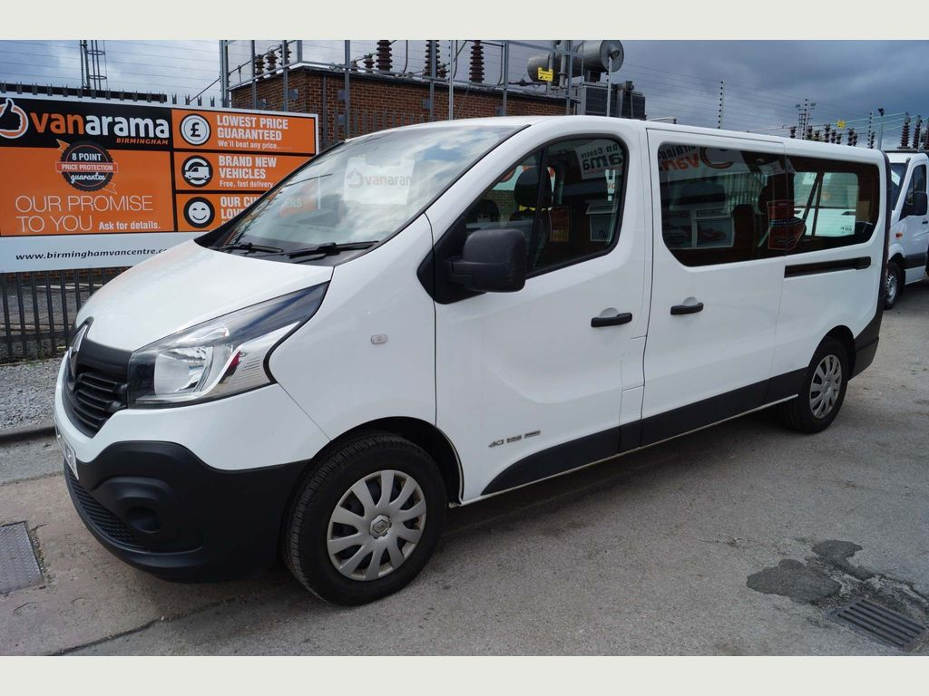 RENAULT TRAFIC Other 1.6 dCi Energy LL29 Business Passenger 5dr (9 Seats, EU6)