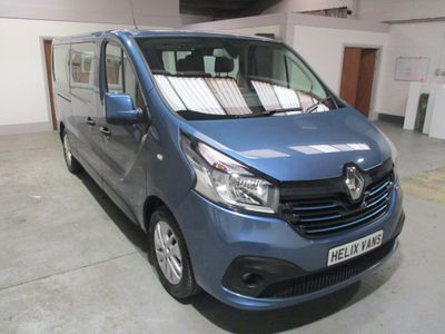 RENAULT TRAFIC Other 1.6 dCi Energy LL29 Sport Passenger 5dr (9 Seats, Nav, EU6)